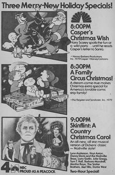 Best Music Movies of 1979 : Skinflint: A Country Christmas Carol