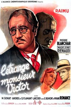 Best Crime Movies of 1938 : Strange M. Victor