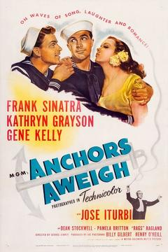 Best Comedy Movies of 1945 : Anchors Aweigh