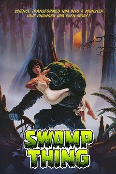 Best Horror Movies of 1982 : Swamp Thing