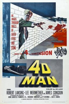 Best Science Fiction Movies of 1959 : 4D Man