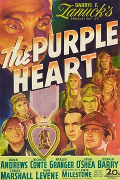 Best Action Movies of 1944 : The Purple Heart