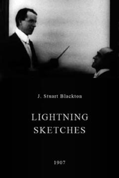 Best Animation Movies of 1907 : Lightning Sketches