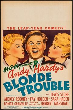 Best Family Movies of 1944 : Andy Hardy's Blonde Trouble