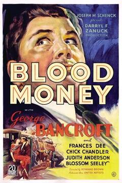 Best Crime Movies of 1933 : Blood Money