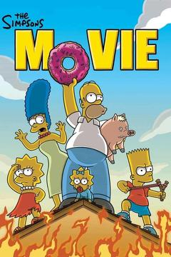 Best Animation Movies of 2007 : The Simpsons Movie