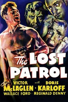 Best War Movies of 1934 : The Lost Patrol