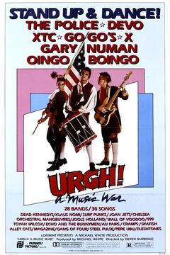 Best Music Movies of 1981 : Urgh! A Music War