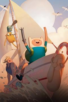 Best Animation Movies of 2017 : Adventure Time: Islands