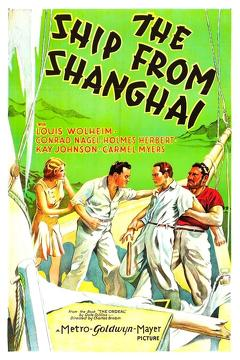 Best Adventure Movies of 1930 : The Ship from Shanghai