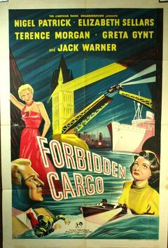 Best Thriller Movies of 1954 : Forbidden Cargo