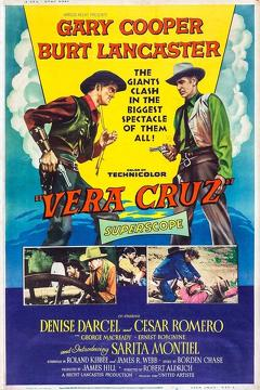 Best Western Movies of 1954 : Vera Cruz