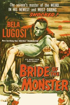 Best Horror Movies of 1955 : Bride of the Monster