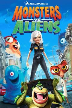 Best Science Fiction Movies of 2009 : Monsters vs Aliens