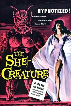 Best Fantasy Movies of 1956 : The She-Creature