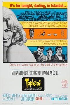 Best Crime Movies of 1964 : Topkapi