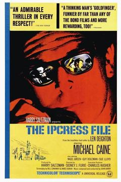 Best Thriller Movies of 1965 : The Ipcress File
