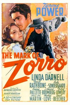 Best Action Movies of 1940 : The Mark of Zorro