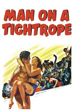 Best Thriller Movies of 1953 : Man on a Tightrope