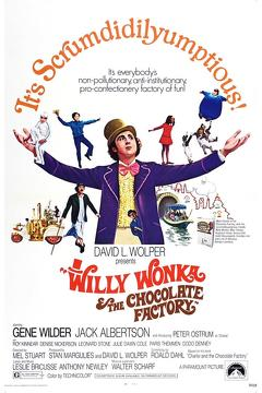 Best Movies of 1971 : Willy Wonka & the Chocolate Factory