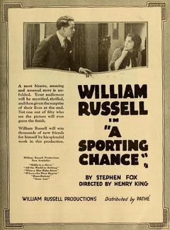 Best Mystery Movies of 1919 : A Sporting Chance