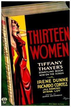 Best Mystery Movies of 1932 : Thirteen Women