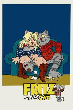 Best Animation Movies of 1972 : Fritz the Cat