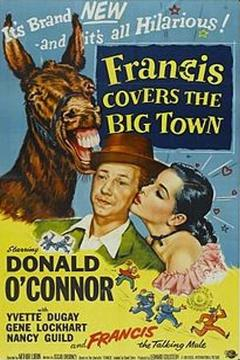 Best Adventure Movies of 1953 : Francis Covers the Big Town