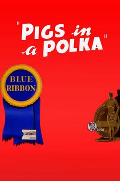 Best Animation Movies of 1943 : Pigs in a Polka