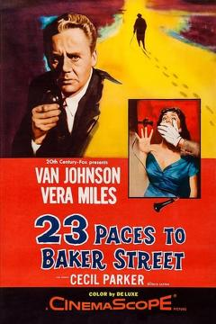 Best Thriller Movies of 1956 : 23 Paces to Baker Street