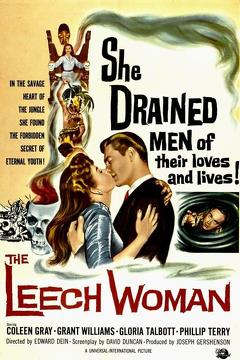 Best Science Fiction Movies of 1960 : The Leech Woman