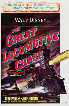 Best Family Movies of 1956 : The Great Locomotive Chase