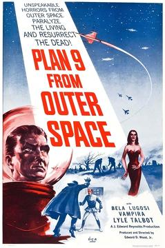 Best Science Fiction Movies of 1959 : Plan 9 from Outer Space