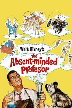 Best Science Fiction Movies of 1961 : The Absent-Minded Professor