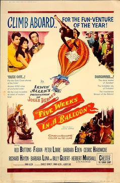 Best Family Movies of 1962 : Five Weeks in a Balloon