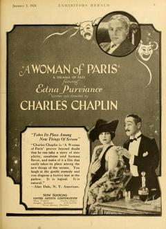 Best Drama Movies of 1923 : A Woman of Paris: A Drama of Fate