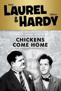 Best Comedy Movies of 1931 : Chickens Come Home