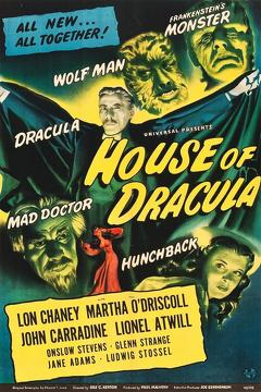 Best Fantasy Movies of 1945 : House of Dracula