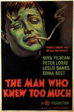 Best Crime Movies of 1934 : The Man Who Knew Too Much