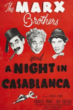 Best Comedy Movies of 1946 : A Night in Casablanca