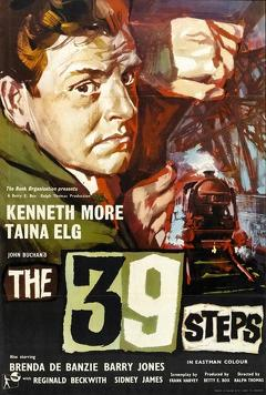 Best Action Movies of 1959 : The 39 Steps