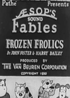 Best Animation Movies of 1930 : Frozen Frolics