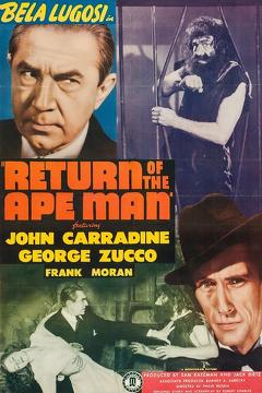 Best Science Fiction Movies of 1944 : Return of the Ape Man