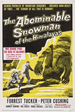 Best Horror Movies of 1957 : The Abominable Snowman
