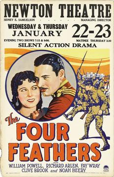 Best Adventure Movies of 1929 : The Four Feathers
