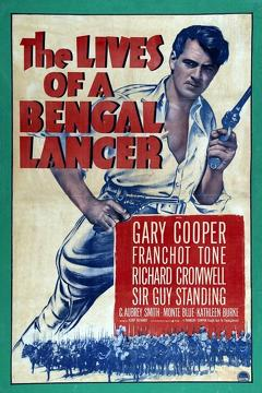 Best Adventure Movies of 1935 : The Lives of a Bengal Lancer
