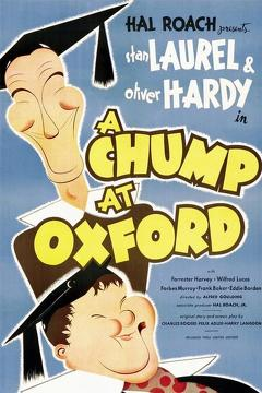 Best Comedy Movies of 1940 : A Chump at Oxford