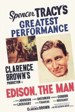 Best History Movies of 1940 : Edison, the Man