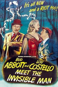 Best Horror Movies of 1951 : Abbott and Costello Meet the Invisible Man