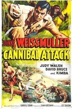Best Adventure Movies of 1954 : Cannibal Attack
